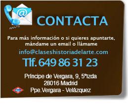 Contacta con Clases de historia del Arte en Madrid